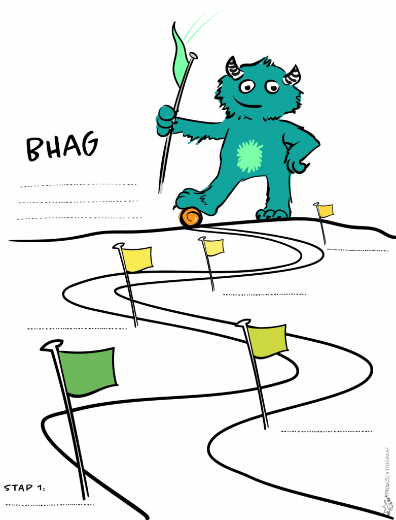 BHAG roadmap template